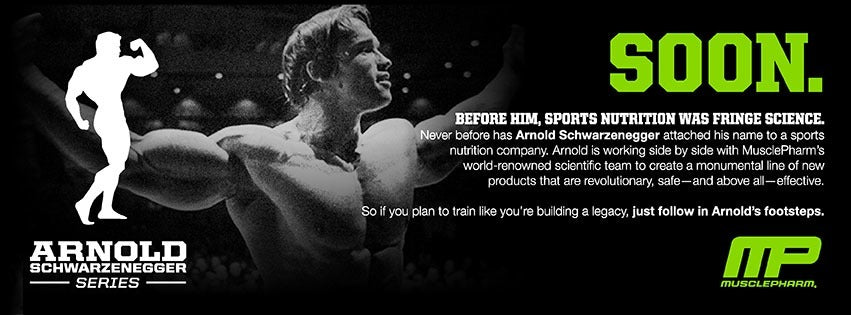 Musclepharm and Arnold