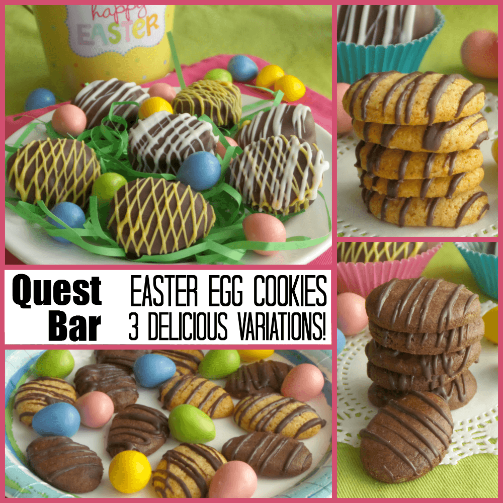 quest easter egg cookies