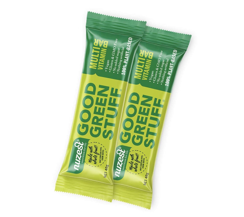 2x Good Green Stuff Bars