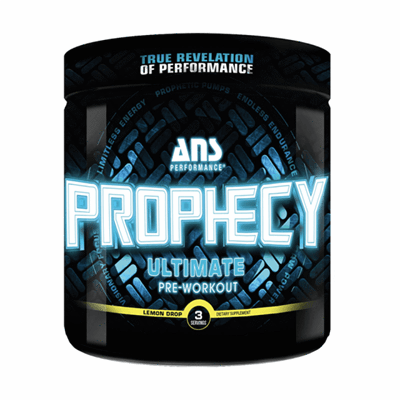 ANS Performance Prophecy Pre Workout 3 Serve Lemon Drop