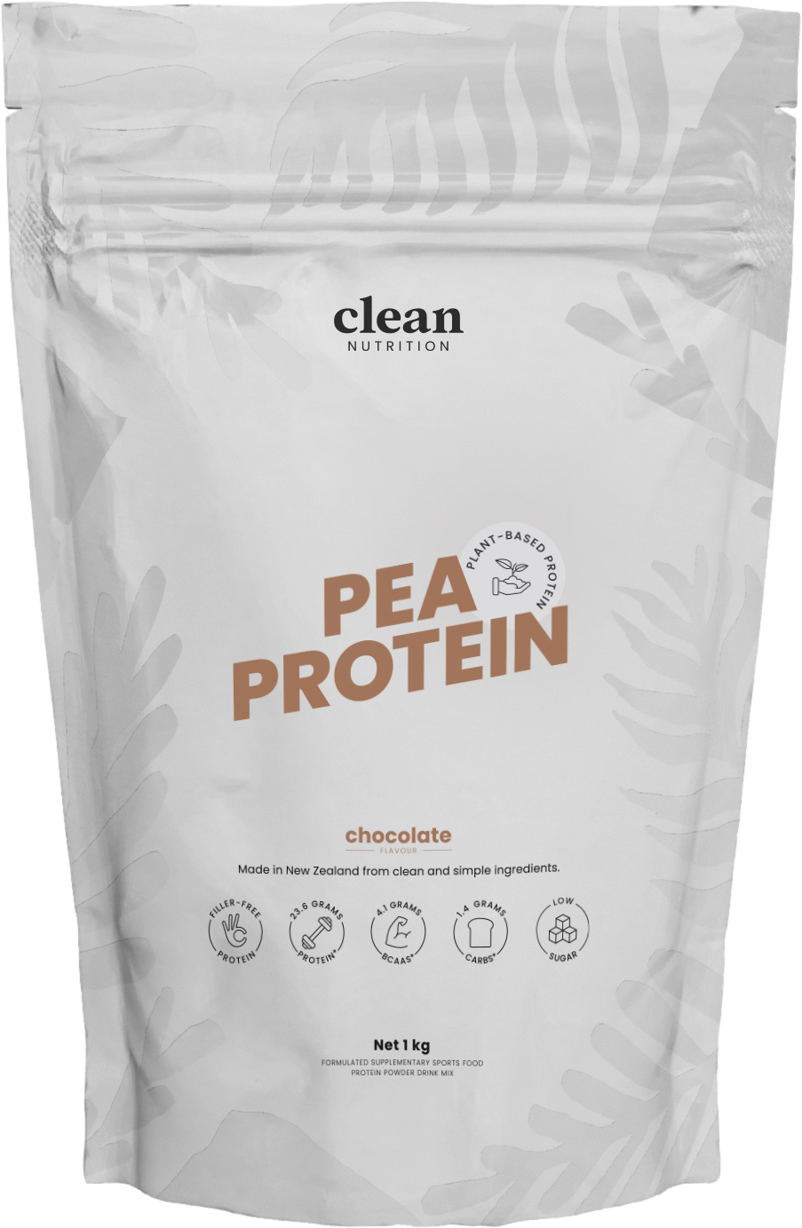 Clean Nutrition Pea Protein 1kg Chocolate