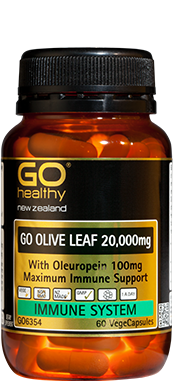 Go Healthy Olive Leaf 30caps