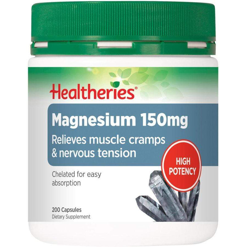 Healtheries Magnesium 150mg 200 caps