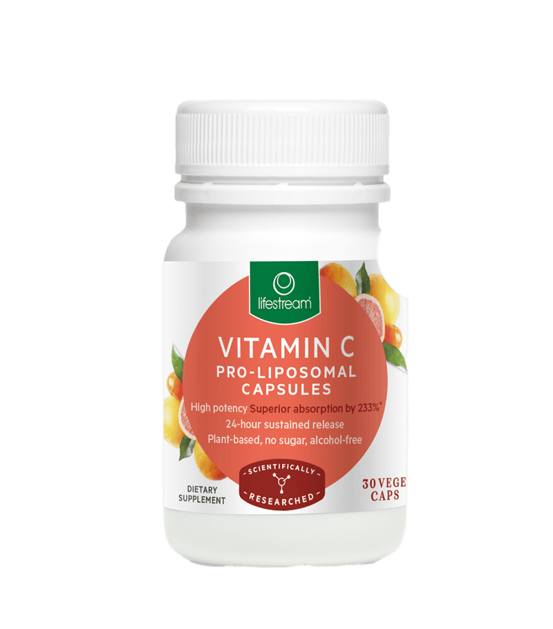 Lifestream Vitamin C Pro-Liposomal 30 Caps