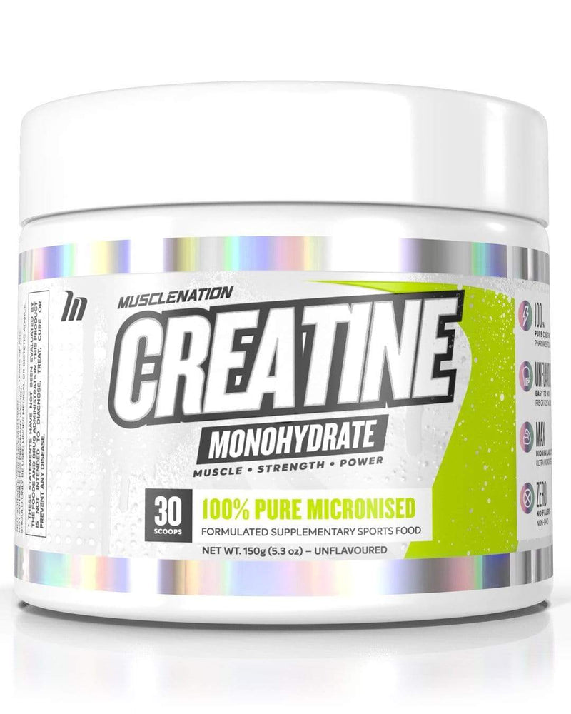 Muscle Nation Creatine Monohydrate Unflavoured 150g