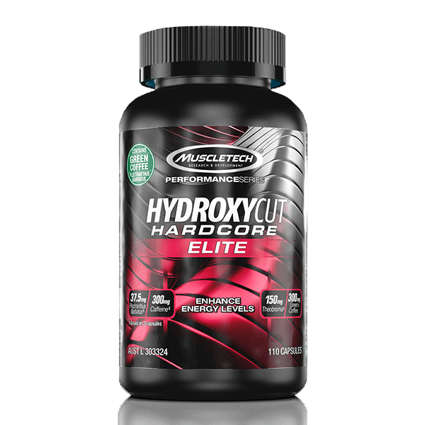 Muscletech Hydroxycut Hardcore Elite 110caps