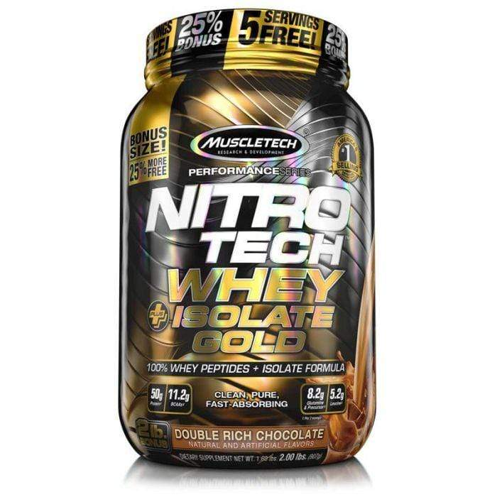 Muscletech Nitro Tech Whey Isolate Gold 2lb