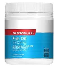 NutraLife Omega 3 Fish Oil 1000mg 400caps