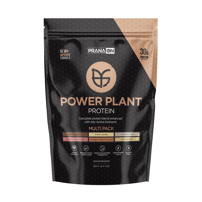Power Plant Protein - Multi Pack 264g