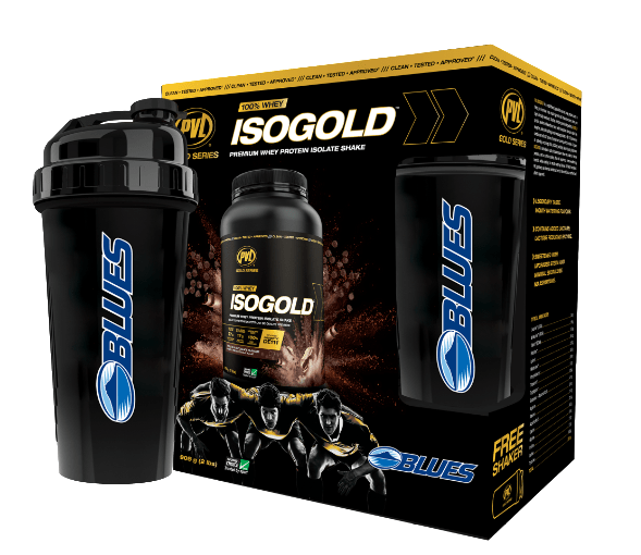 PVL Limited Edition IsoGold Blues Rugby Box