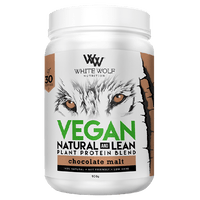 White Wolf Natural & Lean Vegan Plant Protein 900g