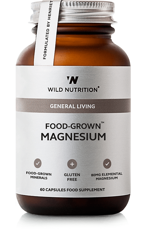 Wild Nutrition Food-Grown Magnesium 60 Caps