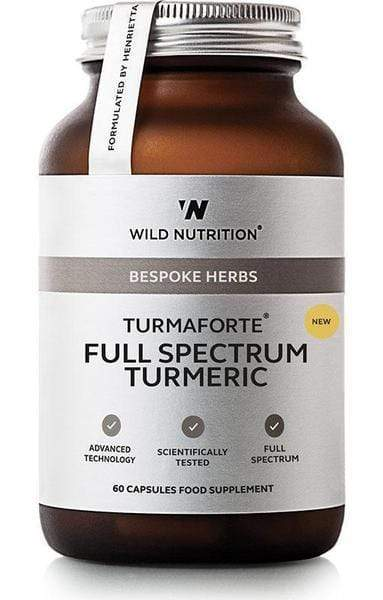 Wild Nutrition Food-Grown Turmaforte Full Spectrum Turmeric 60 Caps