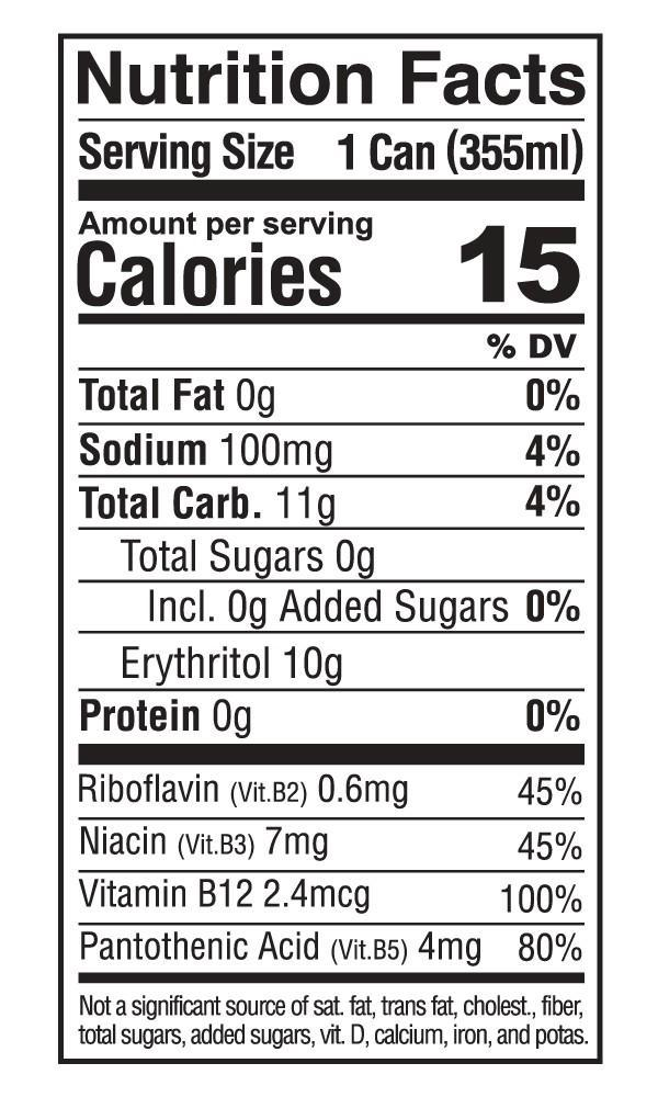 Nutrition Facts For Kill Cliff Recover 6 Pack