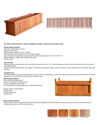 Best Redwood Planter Catalog
