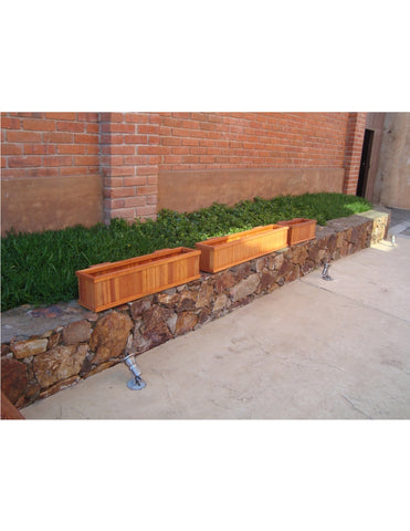 Best redwood window planter box