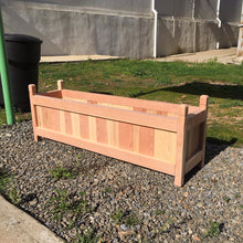 Load image into Gallery viewer, Garden Redwood Solid Planter Box - Best Redwood