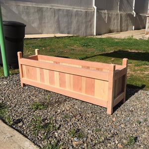 Garden Redwood Solid Planter Box - Best Redwood
