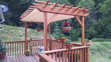 Load image into Gallery viewer, Outdoor Super Deck Redwood Pergola
