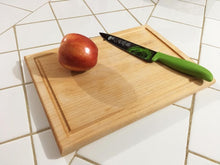 Load image into Gallery viewer, Hard Maple Wood Side grain With juice groove Cutting Board - Best Redwood