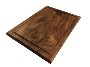 American Walnut Edge Grain With Juice Groove Cutting Board - Best Redwood