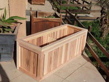 Load image into Gallery viewer, San Danielle Solid Redwood Planter Box - Best Redwood