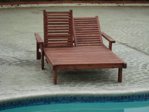Outdoor Sun Redwood Chaise Lounge - Best Redwood