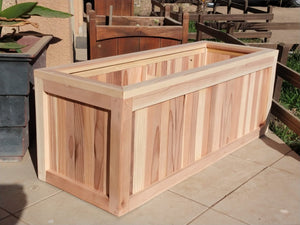 San Danielle Solid Redwood Planter Box - Best Redwood