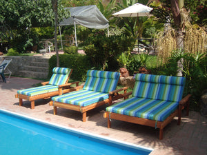 Outdoor Beach Redwood Chaise Lounge - Best Redwood