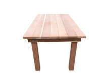 Load image into Gallery viewer, Farmhouse Redwood Outdoor Dining Table - Best Redwood