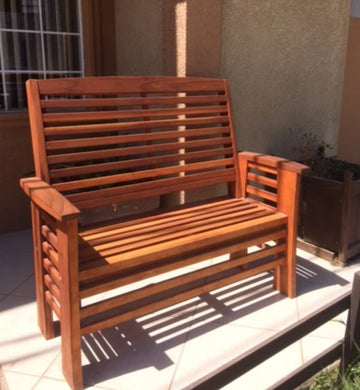 Redwood Garden Outdoor Bench