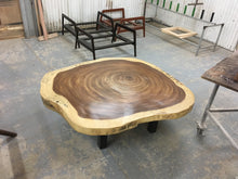 Load image into Gallery viewer, Parota Slab Live Edge Living Room Table - Best Redwood