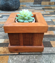 Load image into Gallery viewer, Succulents Redwood Planter Box