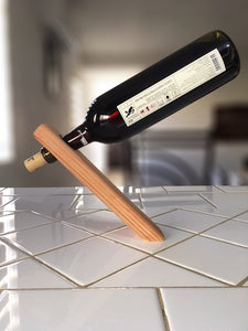 Redwood Wine Stand Holder