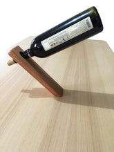 Load image into Gallery viewer, Redwood Wine Stand Holder