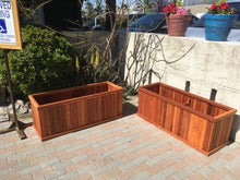 Load image into Gallery viewer, Santa Clara Redwood Planter Box - Best Redwood