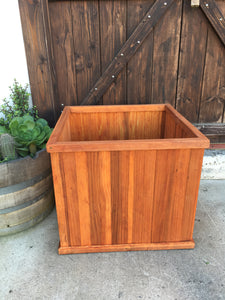 San Jose Redwood Planter Box - Best Redwood