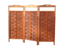 Load image into Gallery viewer, Redwood 3-Panel Room Divider Privacy Screen - Best Redwood