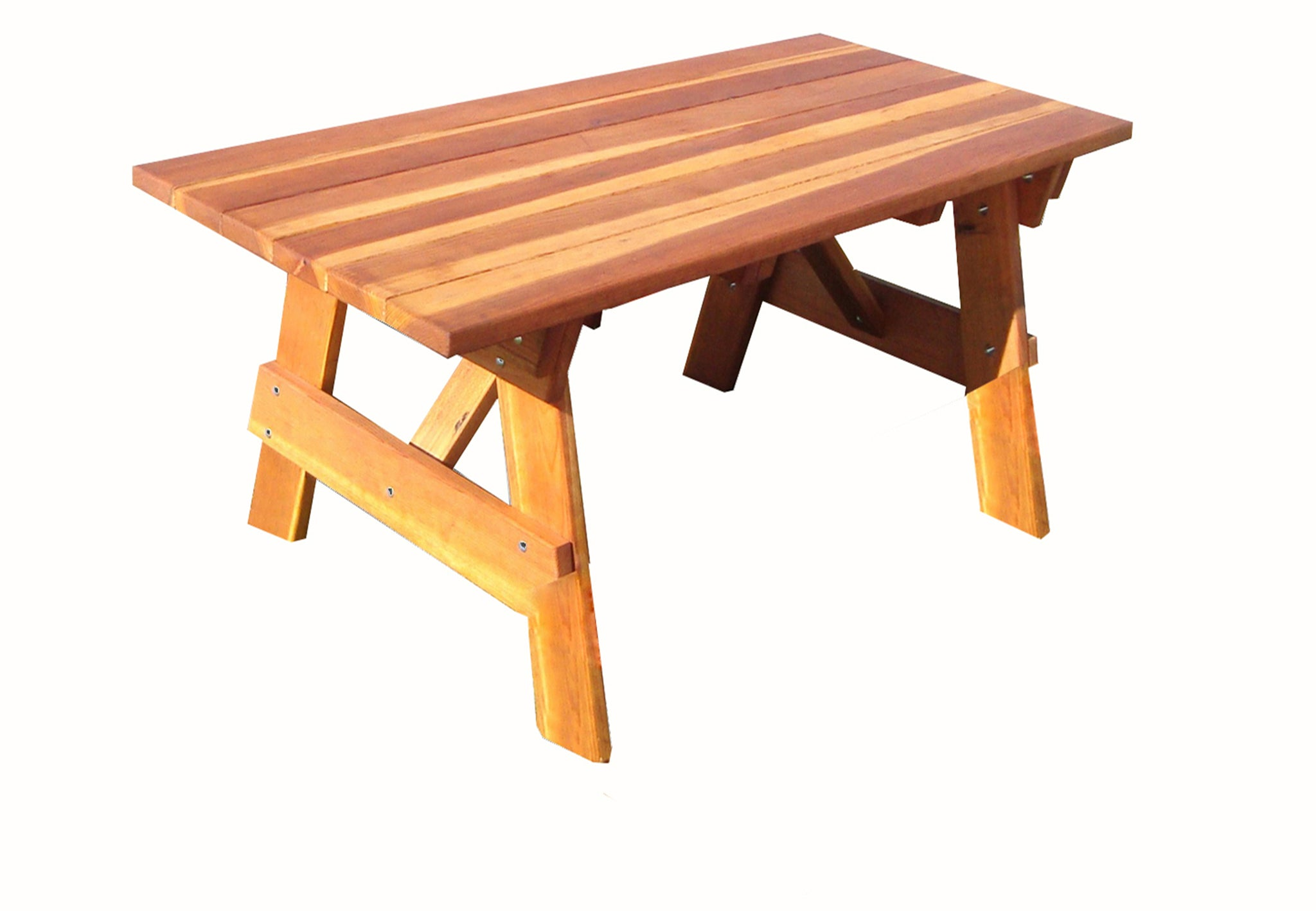 Fine Outdoor Super Deck Redwood Picnic Table Bralicious Painted Fabric Chair Ideas Braliciousco