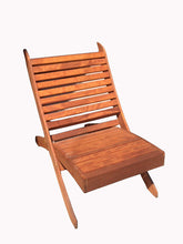 Load image into Gallery viewer, Outdoor Redwood Portable Chair