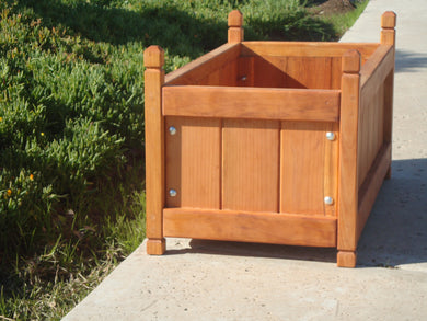 Garden Redwood Solid Planter Box