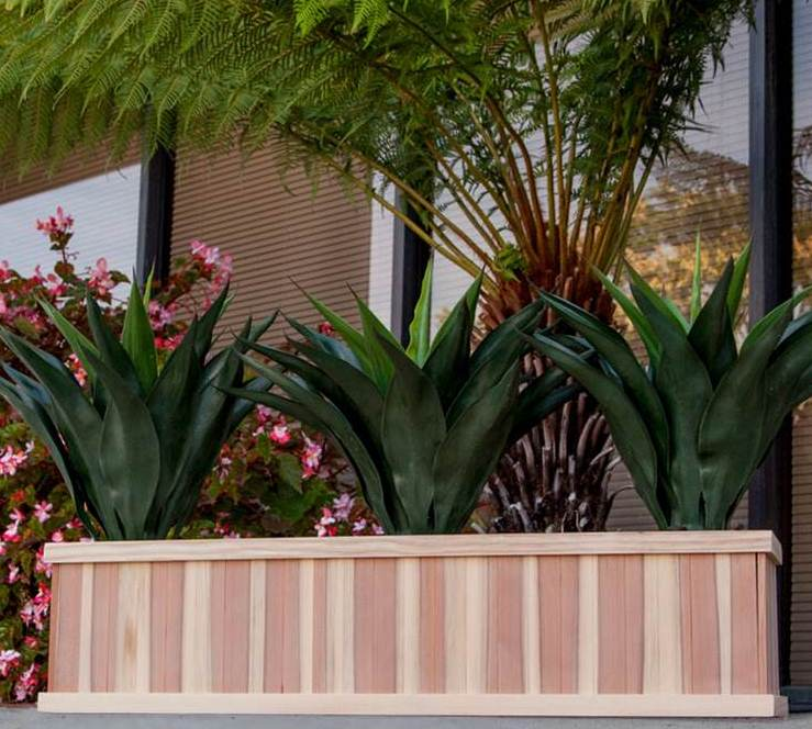 Window Redwood Planter Box - Best Redwood
