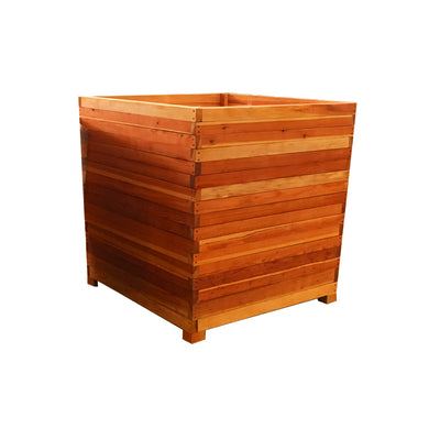 Santa Fe Redwood Planter Box