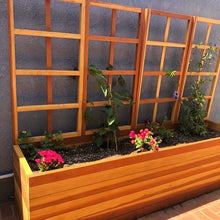 Load image into Gallery viewer, San Laura's Redwood Planter Box with Trellis - Best Redwood