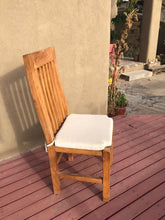 Load image into Gallery viewer, Farmhouse Redwood Outdoor Dining Chair - Best Redwood