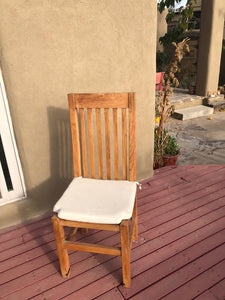 Farmhouse Redwood Outdoor Dining Chair - Best Redwood