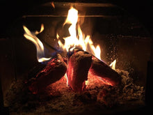 Load image into Gallery viewer, Fire -Blocks - Compressed Hardwood Sawdust in Wood Briquettes - Best Redwood
