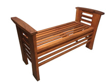 Load image into Gallery viewer, Redwood Garden Outdoor Bench - Best Redwood