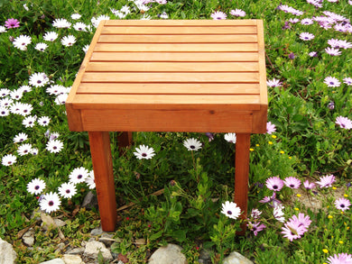 Redwood Outdoor Side Table - Best Redwood