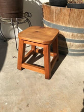 Load image into Gallery viewer, Solid Redwood Foot Stool - Best Redwood